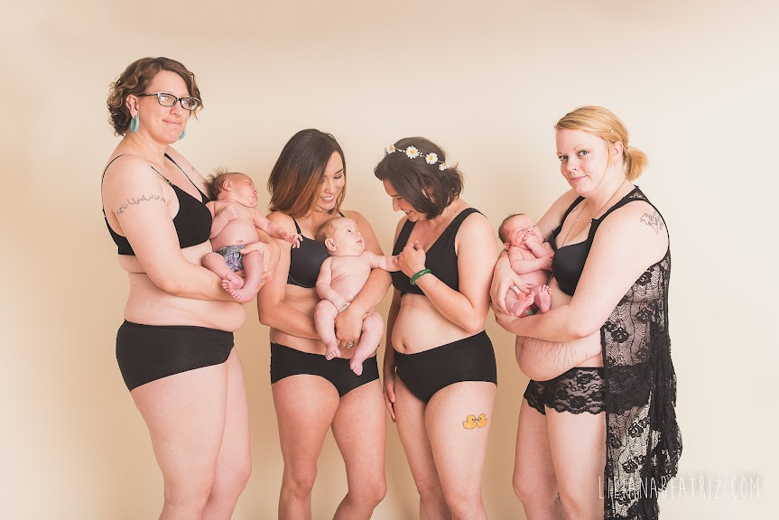 15 Photos of Unretouched Postpartum Bodies That Show The Beauty of Motherhood