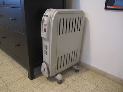 Heating Radiator, creates a ELF field around it, 1 meter safety distance