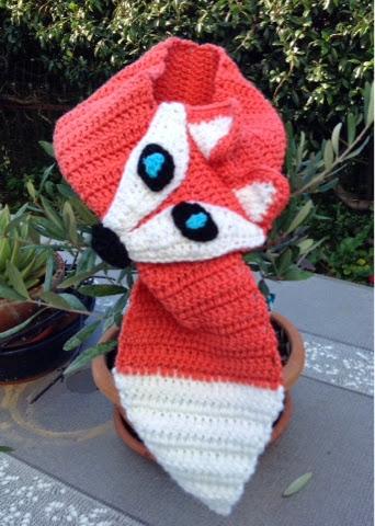 professionale più votato scegli genuino buona qualità bricolo-chic: Fox scarf ovvero sciarpa volpe