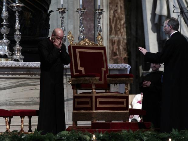 Último Miércoles de ceniza de Benedicto XVI como Papa