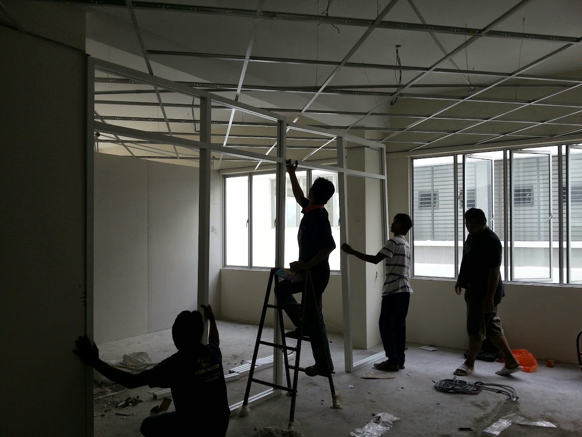 install aluminium frame