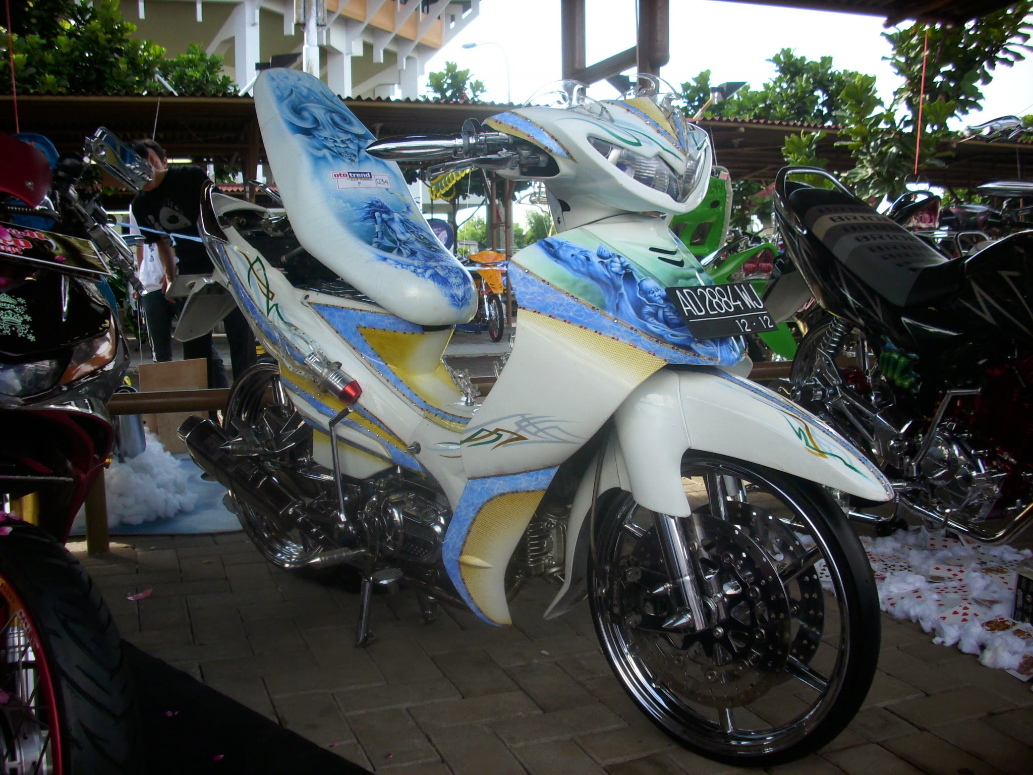 Foto Jupiter Z Modifikasi