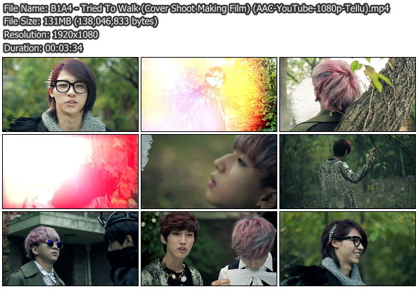 [MV] B1A4   Tried To Walk (Cover Shoot Making Film) (YouTube HD 1080p)