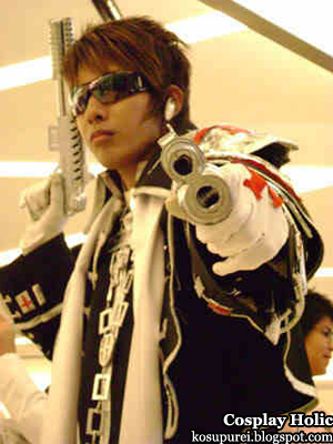 trinity blood cosplay - father tres iqus