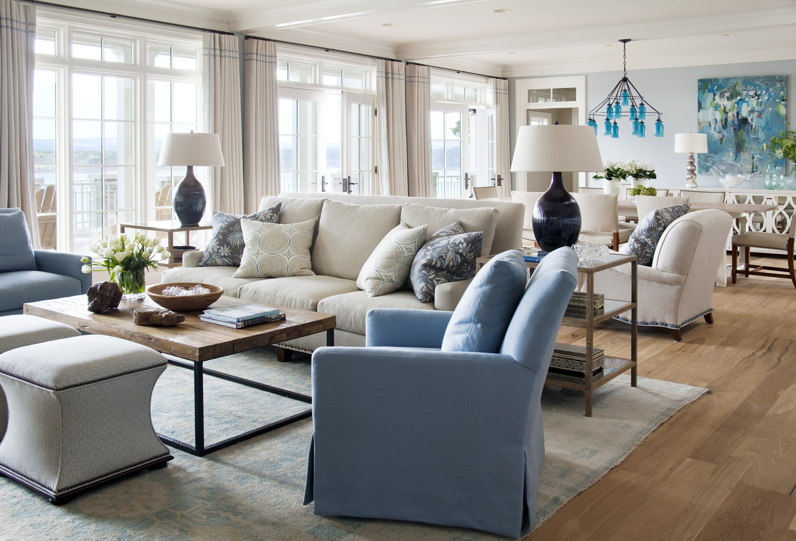 Love this beach style... Interior Heaven