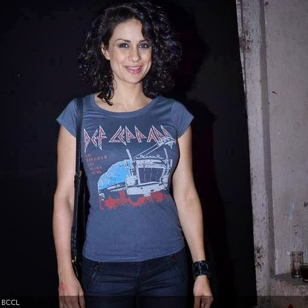 Gul Panag was in casuals during Rolling Stone awards, held in Mumbai. (Pic: Viral Bhayani)<br /> <br />