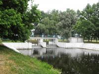 Плотина на реке Трубеж
