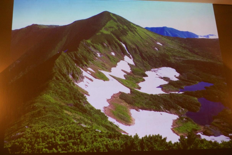 山々の美しさ