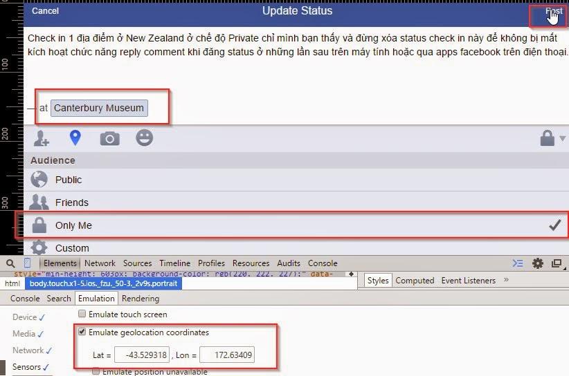 Check in facebook để bật reply comment cho tài khoản fb cá nhân