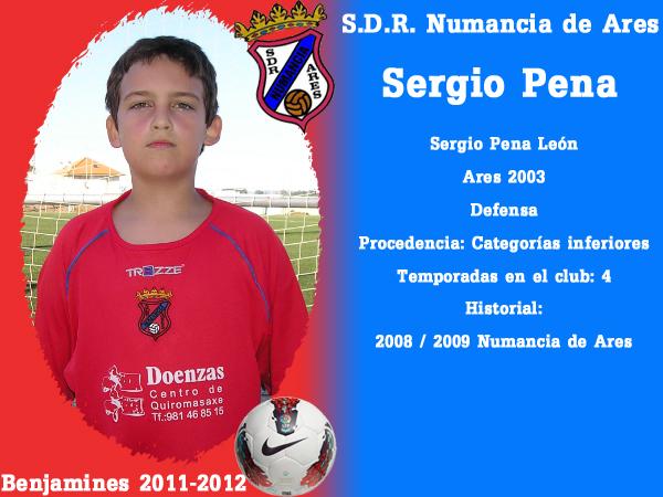 ADR Numancia de Ares. Benxamíns 2011-2012. SERGIO PENA.