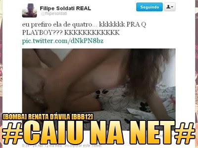 Vídeo Porno Renata BBB 12