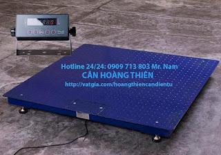 Cân sàn điện tử 2 tấn chất lượng tốt nhất