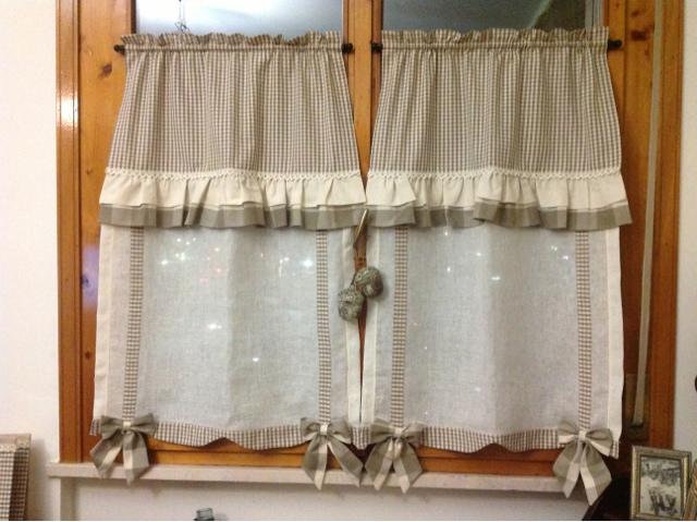 Come Cucire Una Tenda A Vetro XA55 ~ Pineglen