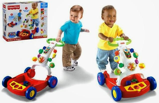 Đồ chơi Xe tập đi đa năng - Walk To Wagon là món đồ chơi rất bổ ích và lý thú