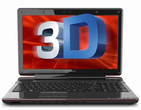 Toshiba Qosmio F755-3D290 glasses-free 3D laptop Specs and Review