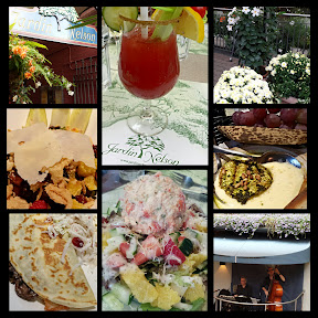 A glimpse of a lunch at Jardin Nelson