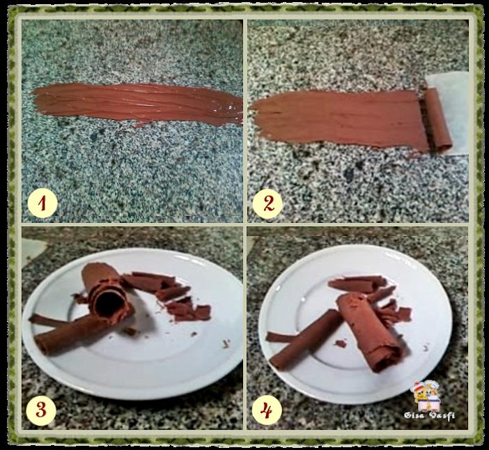 Decorando com chocolate