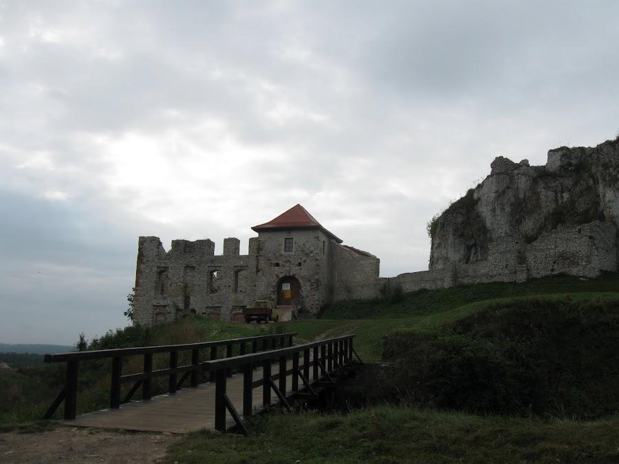 Zamek Rabsztyn - fosa
