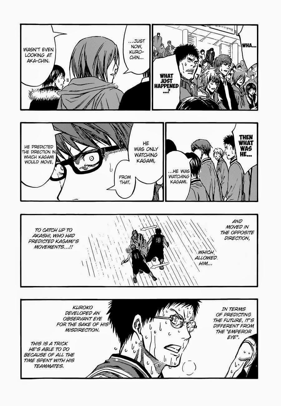 Kuroko no Basket Manga Chapter 263 - Image 14