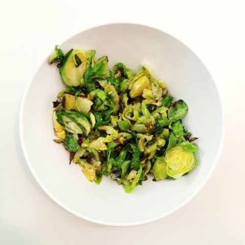 brussel sprouts, agave