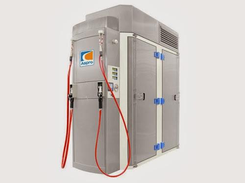 Stacja CNG Aspro SCA 50 (gaz ziemny, metan, kompresor)