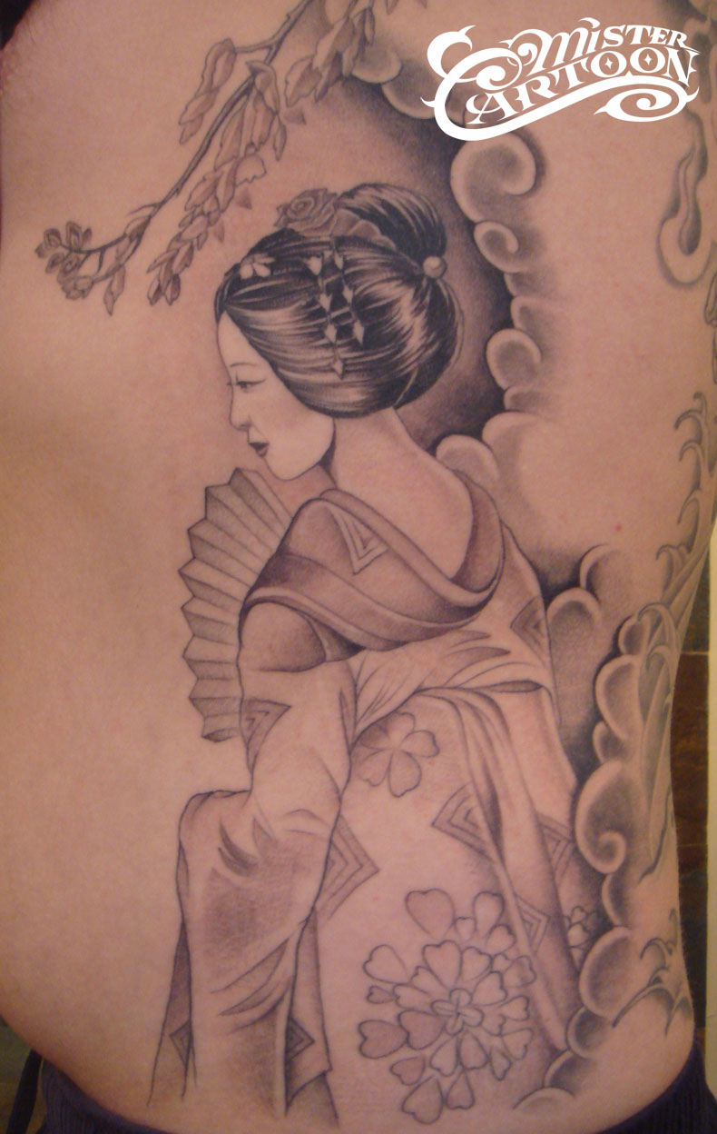 jhakaas pics japanese geisha tattoo designs for girls. Black Bedroom Furniture Sets. Home Design Ideas