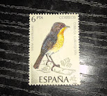 sellos Fauna aves  -curruca carrasqueña