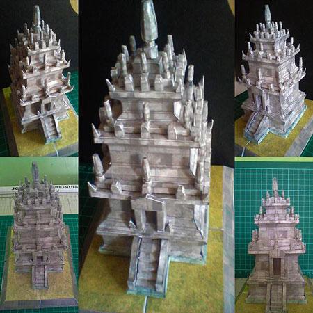 Cangkuang Temple Papercraft