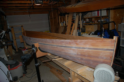 canoe back on