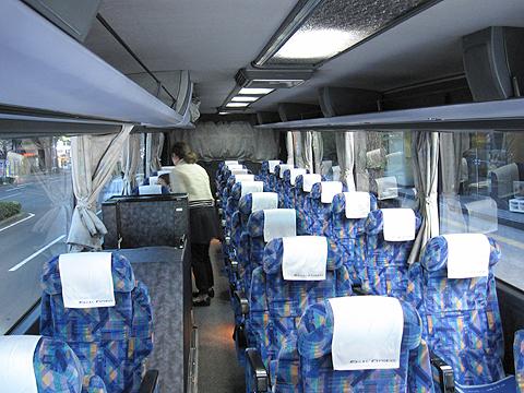 東北急行バス「ホリデースター号」 ・822 車内
