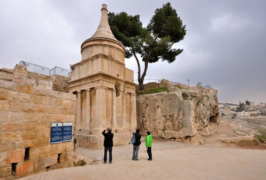 Экскурсия в Иерусалим. Кедронское ущелье. Гробница Авессалома