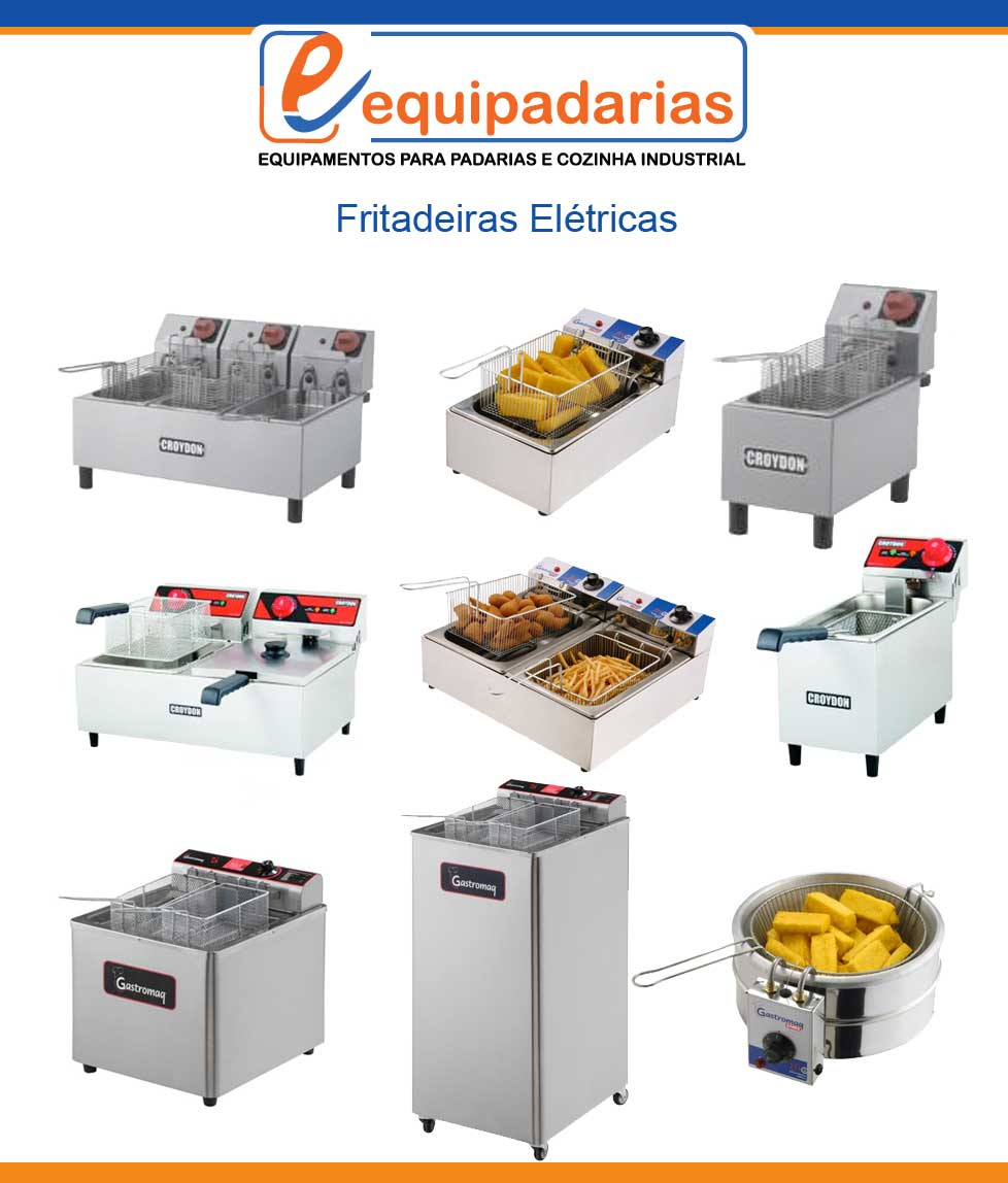 Fritadeira V Rios Modelos Equipamentos Padarias E Cozinhas Industriais