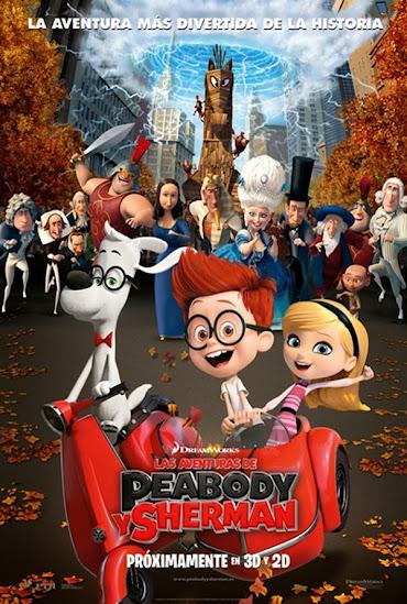 Cartel Las aventuras de Peabody y Sherman