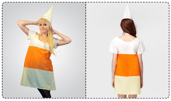 fred flare candy corn costume
