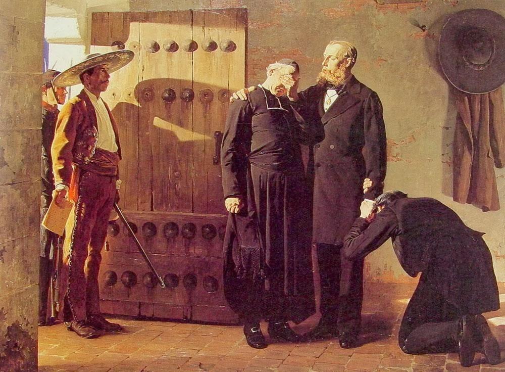 Jean-Paul Laurens - The Last moments of Maximilian Emperor of Mexico