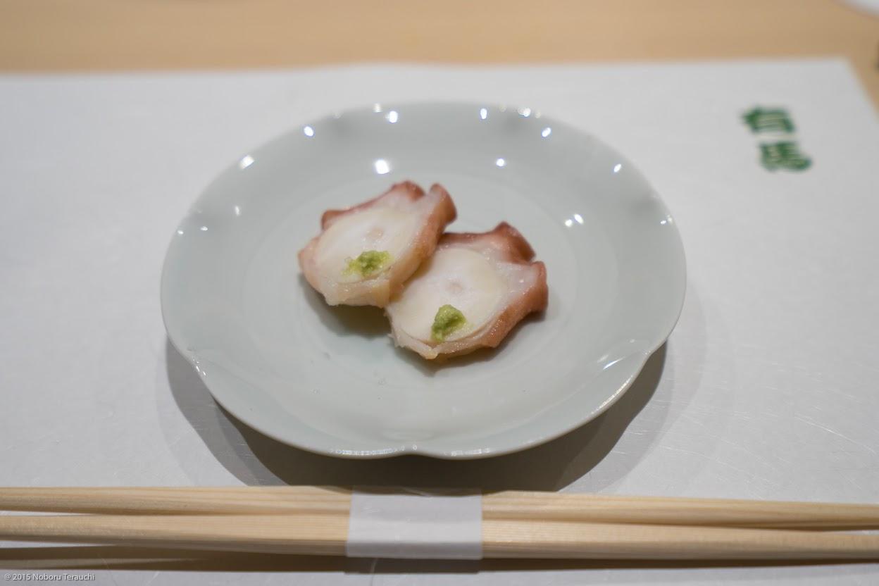 柳蛸の柔らか煮 塩