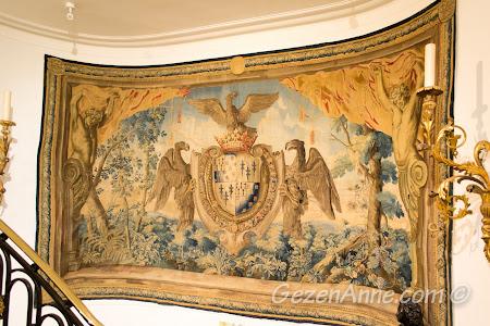 Negresco Otel'in koridorlarındaki duvar süsleri, Nice