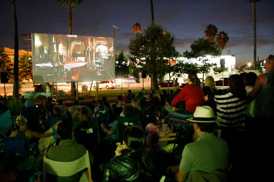 movienight Silver Lake street goes Hollywood  photo