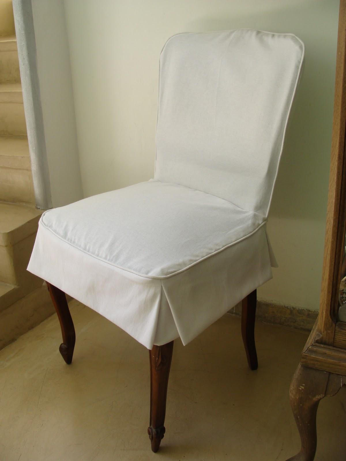 Fundas a medida sillas y puff deco marce - Fundas sillas comedor ...