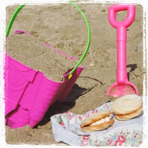 Building Sandcastle's at Newquay beach is #betterwithcake Viennese Whirl