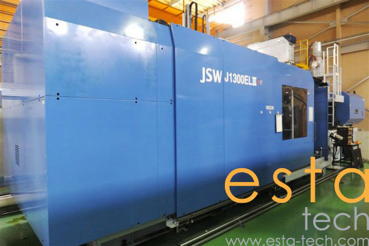 JSW J1300ELIII (2006) Electric Injection Moulding Machine