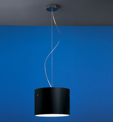 The Black Nemo Donna Minor Pendant - black glass DONESN42 Nemo Suspension lamp