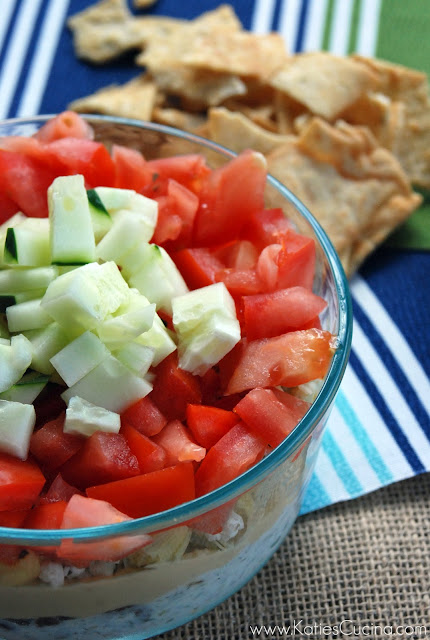 Seven Layer Greek Dip