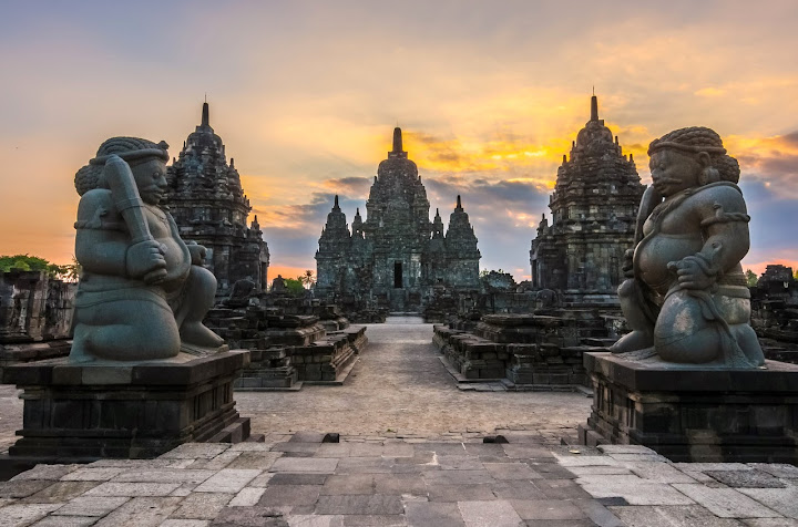 The Gods Used To Live Here. Candi Sewu, Prambanan, Indonesia
