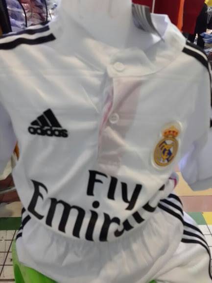 Jersey Kids Real Madrid Home 2014-2015