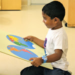 The globe map is an easy transition for children who have seen the continents represented on the Montessori globe, in the same colors. Montessori material always progress in a careful sequence, in measured steps that make learning accessible to children.