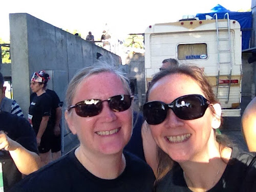 Suz and I pre-race.