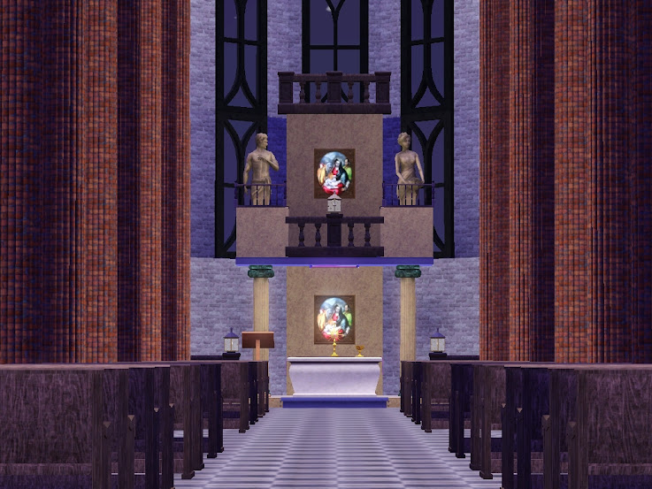 kyrka,kerk,kirche,temple,cathedral,sims3