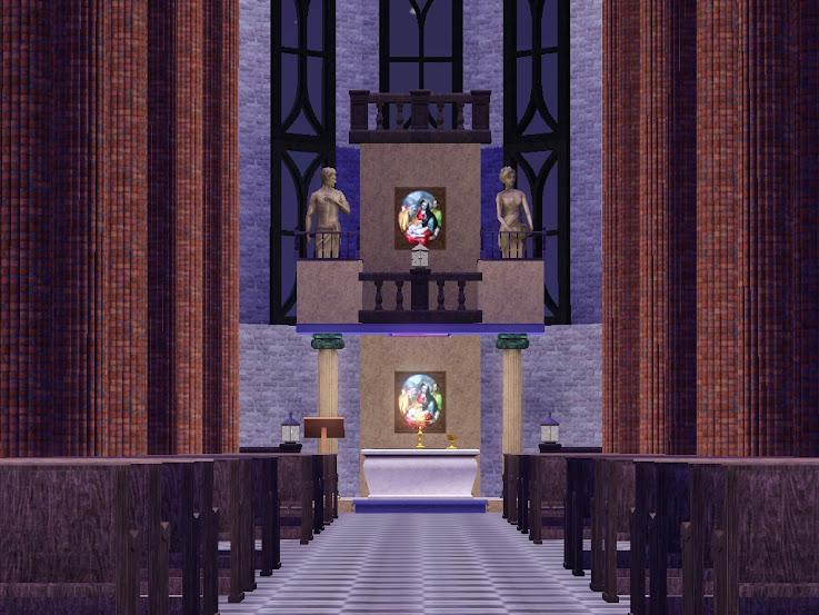 kyrka,kerk,kirche,temple,cathedral,sims3