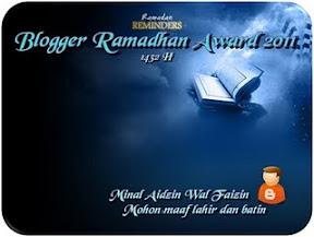 award ramadhan